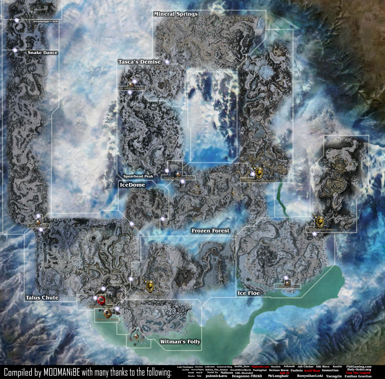 Guild Wars Maps